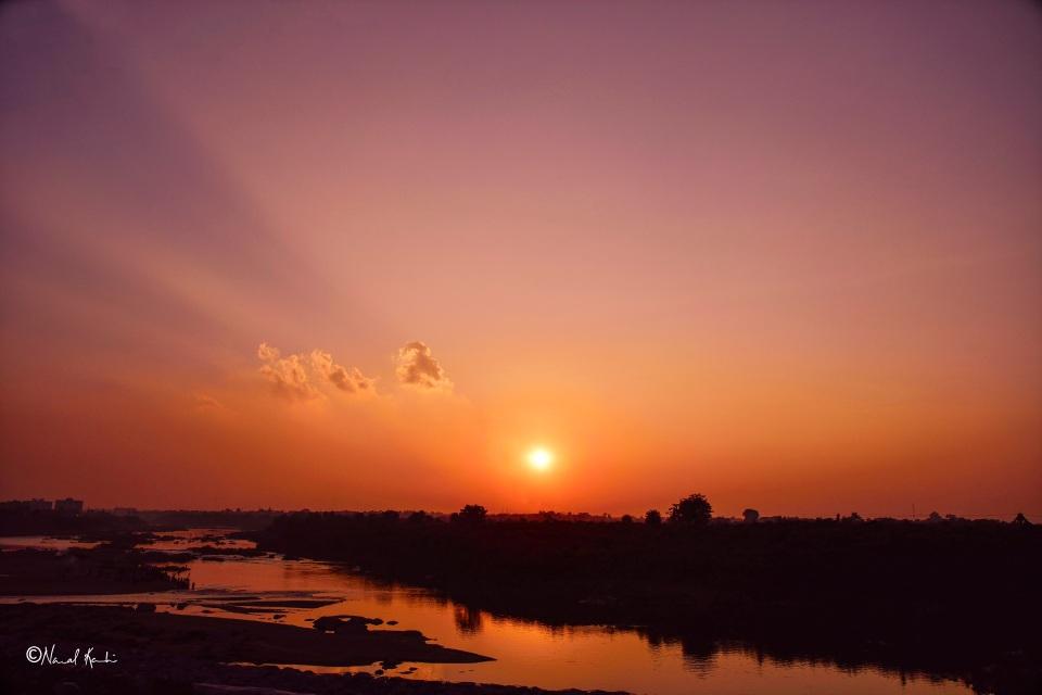 Sunset - Jamshedpur (Jharkhand, India)